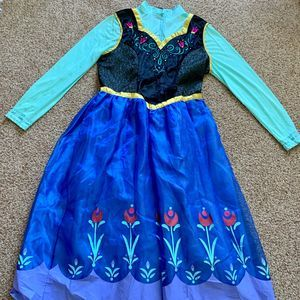 Anna Frozen Costume Adult plus 18-20 dress